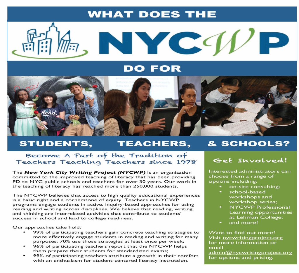 NYCWP New School Partners 2015-2016 Flier