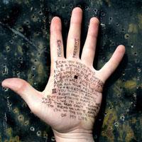 writing on hand