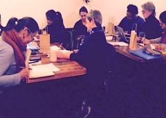 NYCWP Writing Marathon at Lenox Coffee on 12/11/14