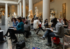 Spring Writing Marathon at the Metropolitan Museum of Art