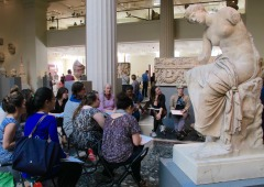 Writing Marathon co-hosted with Metropolitan Museum of Art, April 17, 2015
