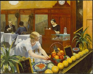 Tables For Ladies, Edward Hopper, 1930, oil on canvas