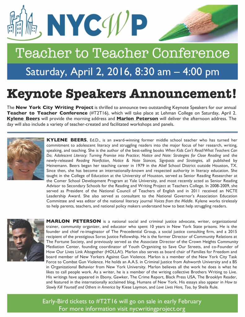 T2T16 Keynote Speakers Announcement