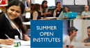 2018 Summer Open Institutes – Registration Coming Soon!