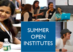 2018 Summer Open Institutes – Registration Now Open!